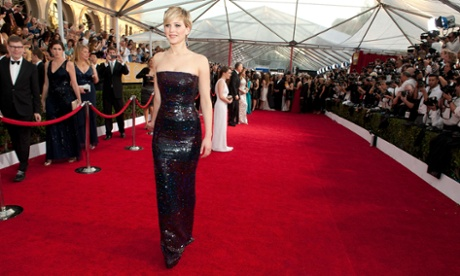 Nude photos of Jennifer Lawrence (seen here at the Oscars) have been leaked online. But how did the hacker get access? Photograph: Angela Weiss/FilmMagic